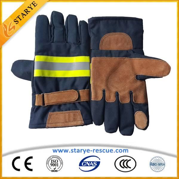 Fireman Protective Flame Retardant Gloves