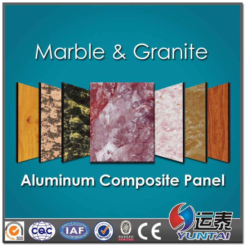 marble finish ACP sheet from China low price
