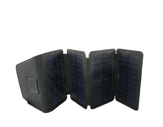 2017 new trend product W07 mini portable flexible solar panel with 6W 5V