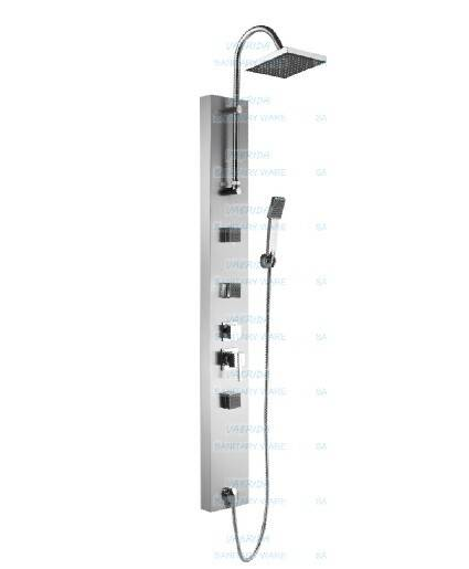 Stainless Steel Thermostatic shower panel 6308