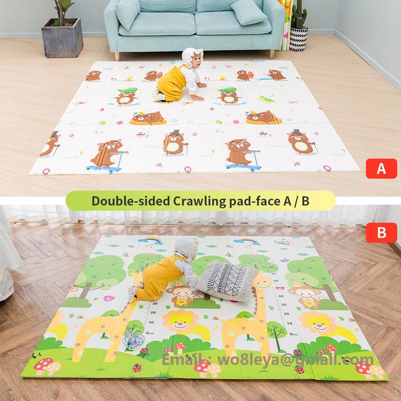 Chenxi bear play mat/baby boys play mat/non toxic foam play mat