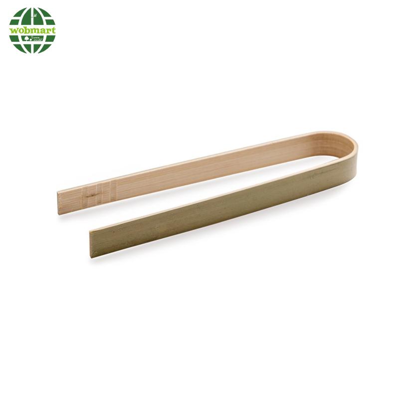 Eco-friendly Food Grade Bamboo Tongs