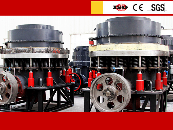 Symons Cone crusher for quarry plant