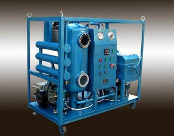 Waste Hydraulic Oil Filtration Dehydration Machine