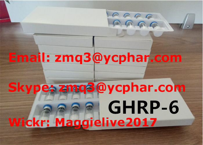 GHRP6 Human Growth Peptides Steroids Ghrp 6 87616-84-0 for Muscle Gaining