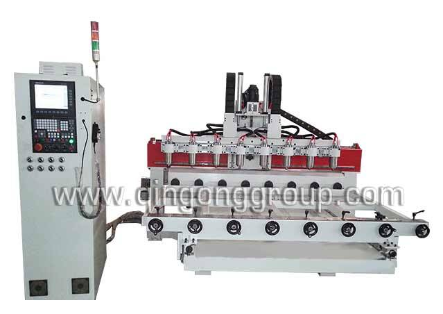 4 Axis 3D Wood Carving CNC Router Machine 4A2515T-8