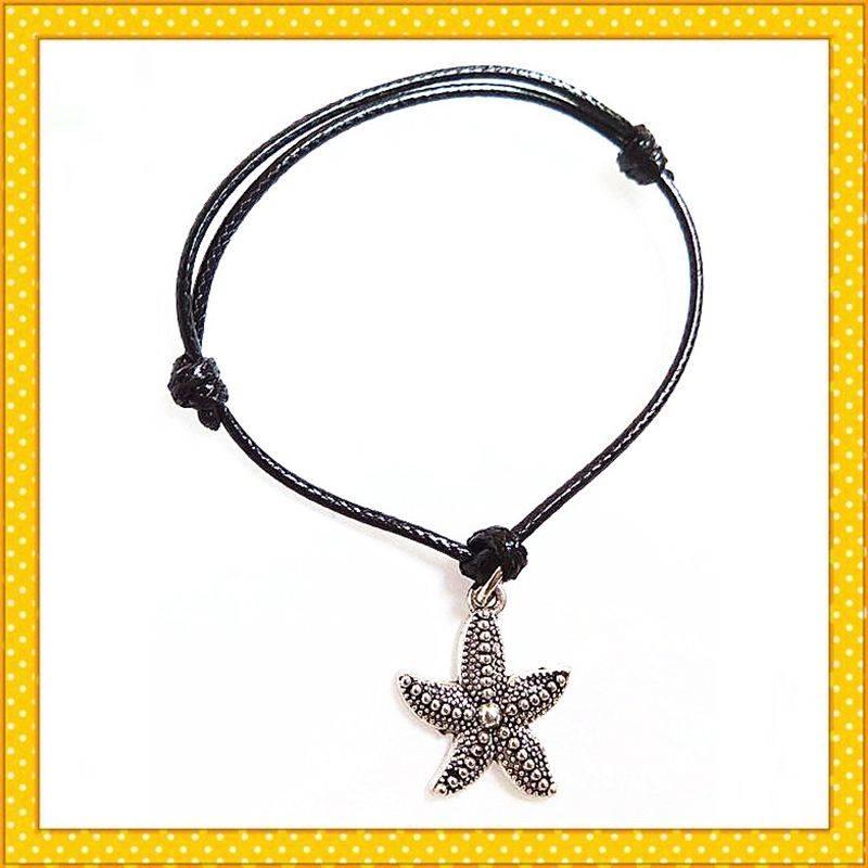 wax rope handmade fashion bracelet