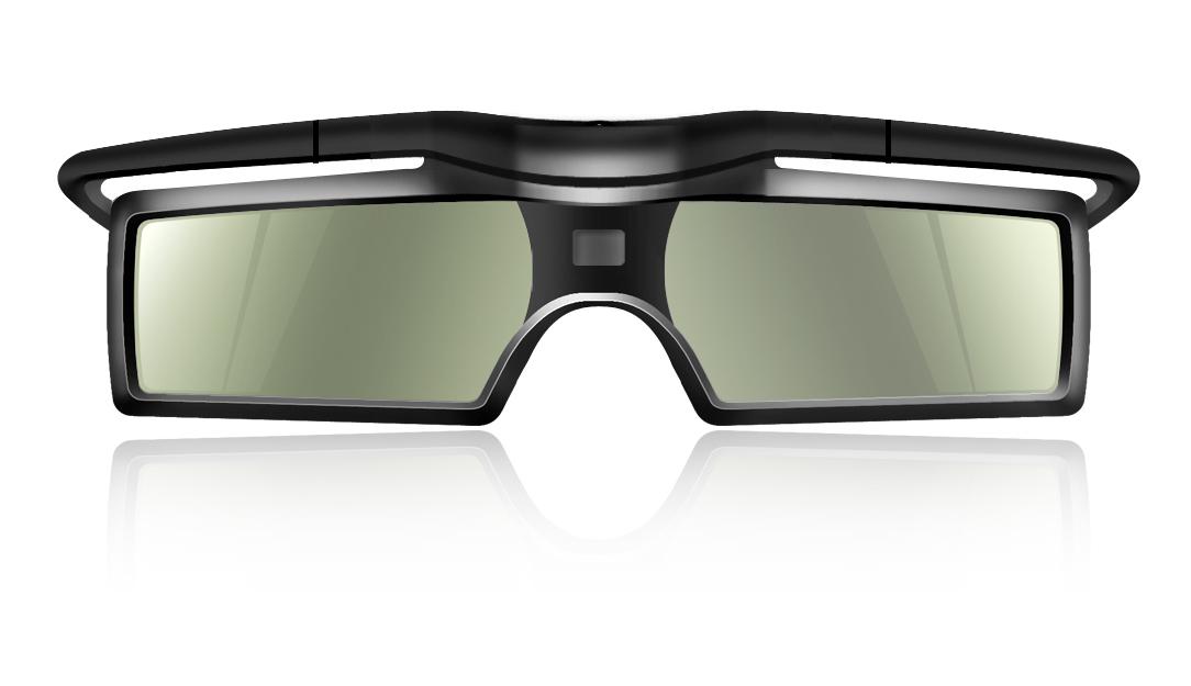 New Flexible Temple Active 3D Glasses for Bluetooth 3D TV Samsung Panasonic