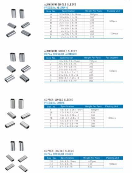 Aluminum Sleeve/Copper Sleeve