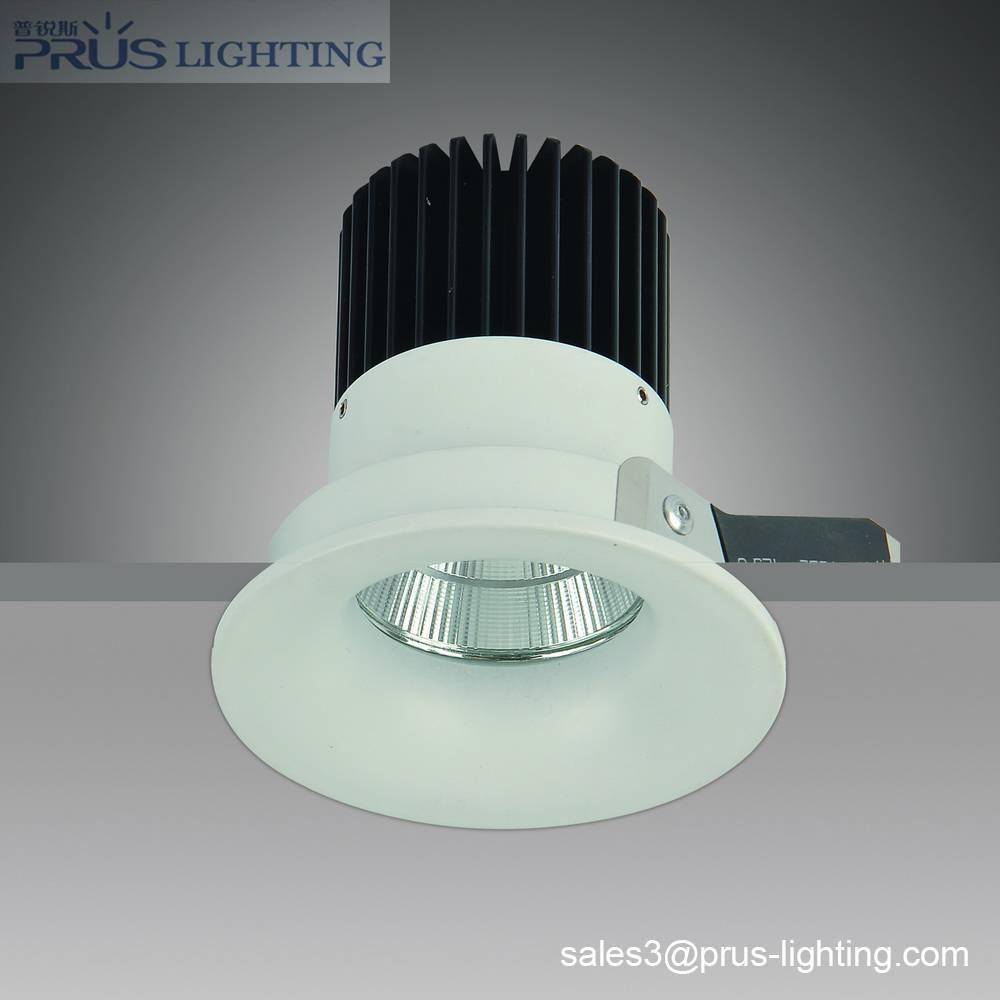 9W LED downlight Bridgelux IV 7W COB 540/590/650lm