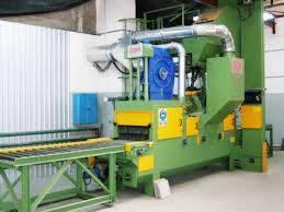 China Marble Plate Shot Blasting Machine /Steel Balls Shot Peening Machine
