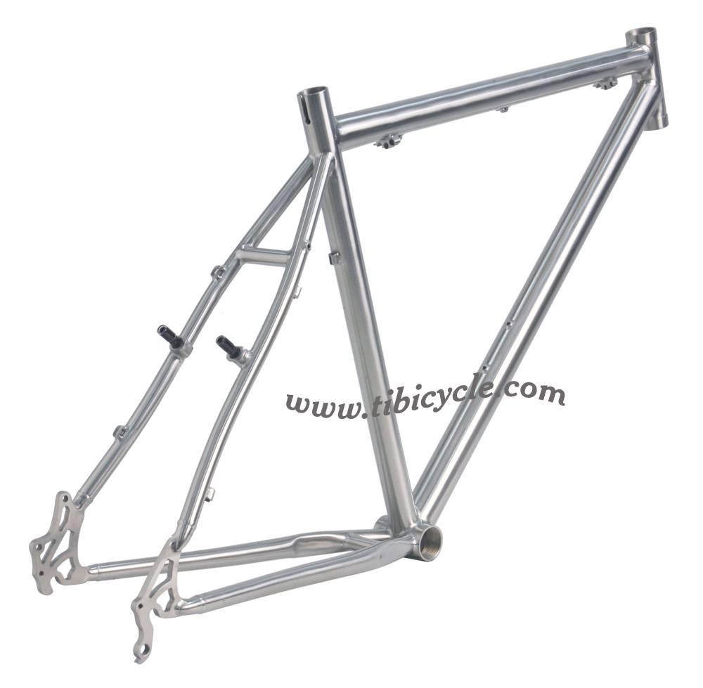 MTB Titanium Bicycle Frame HLM001