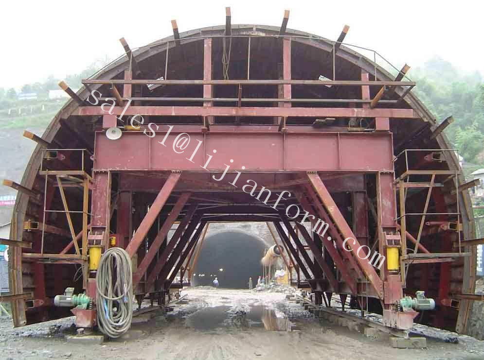 Good quality manufacture tunnel trolley steel formwork system for construction