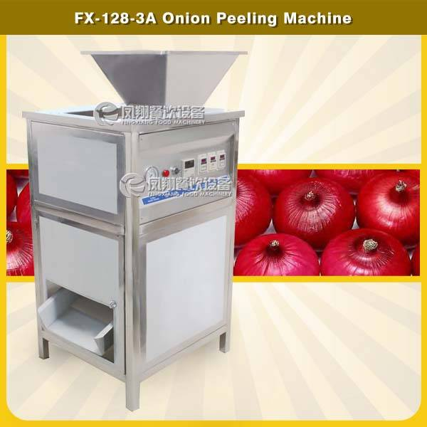 FX-128-3A Dry type onion peeling machine onion peeler