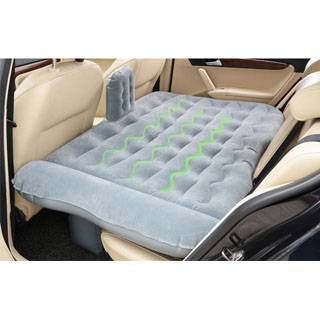 Comfortable inflatable backseat bed car sleeping air mattress