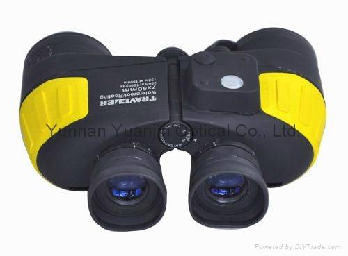 marine binocular 7x50 floatable with compass,moderate size