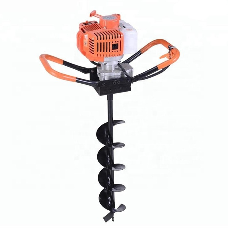 52cc Petrol Earth Auger Hole Borer Fence Post Digger 2 Cycle stroke