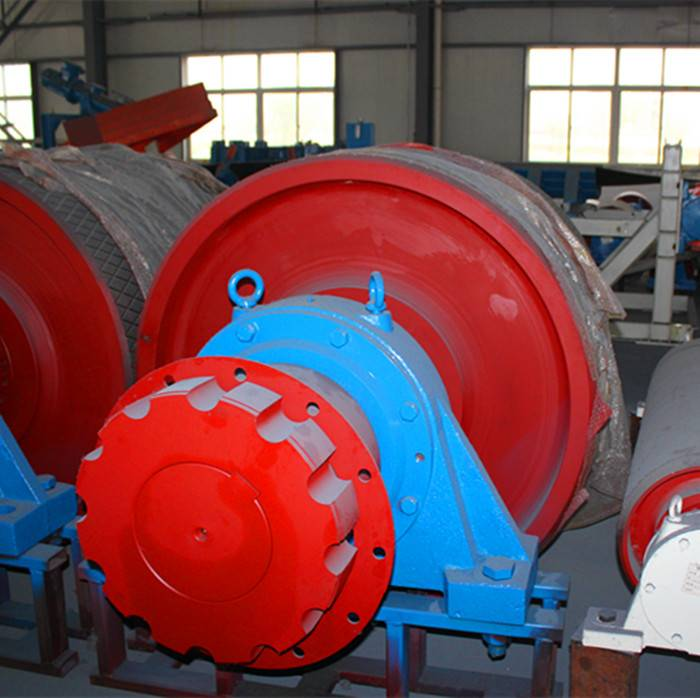Head Pulley with Good Quality Shaft for Conveyors