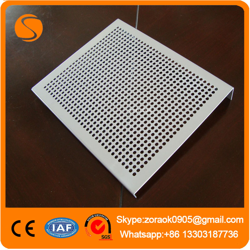 Water Circulation System Perforated Mesh Sheet / Hot Dipped Galvanized Perforated Metal Mesh/Perfora