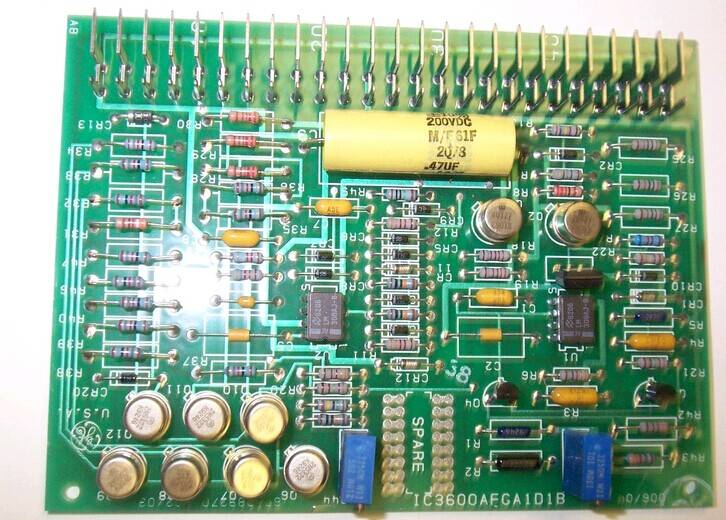 GE GENERAL ELECTRIC FANUC IC3600AFGA1D1B CIRCUIT BOARD CARD