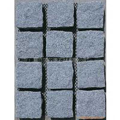 China Grey Granite G603 Paver Landscape Flamed Cobble Stone