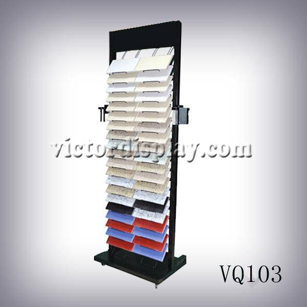 Stone display rack stands for quartz stone