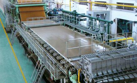 Fourdrinier tissue paper making machine