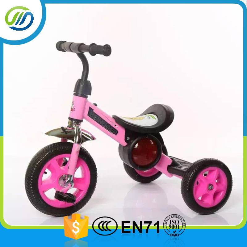 Mini style foot power baby tricycle
