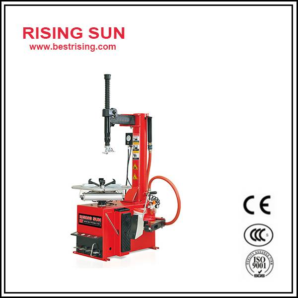 Swing arm used tire changer equipment