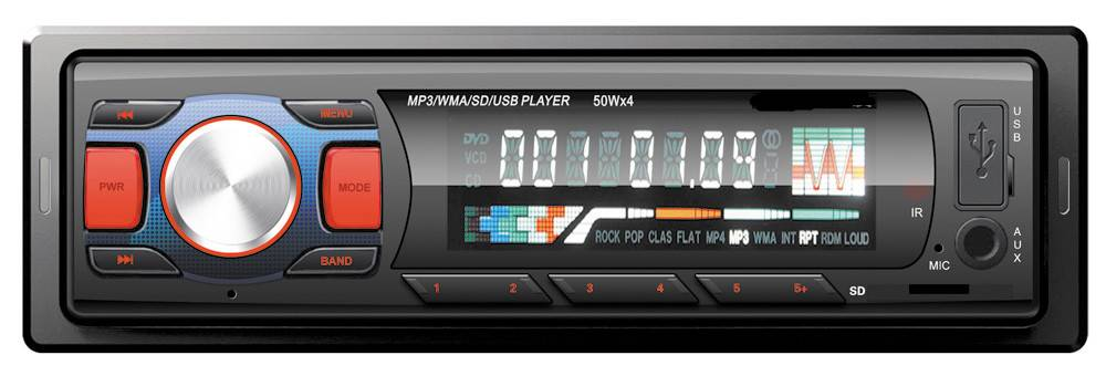 car MP3 player with USB/SD/ID3/FM/AM/Bluetooth/Remote control