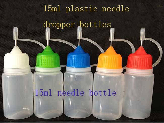15ml plastic needle e-liquid bottle in stock