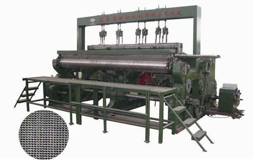 wire mesh weaving loom