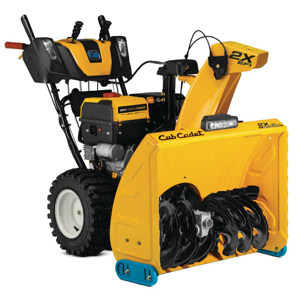 30 in. 357cc 2X Fuel Injected (EFI) Two-Stage Electric Start Gas Snow Blower with IntelliPower Tech