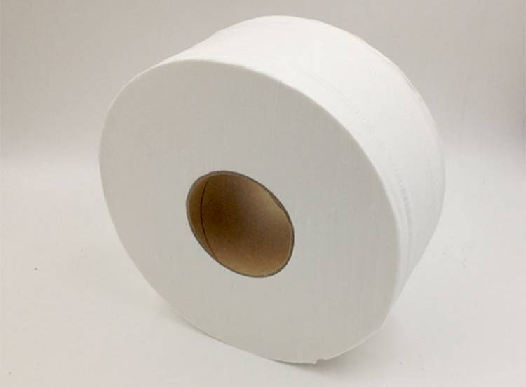 toilet paper in small jumbo roll, recycled pulp, cheap price OEM