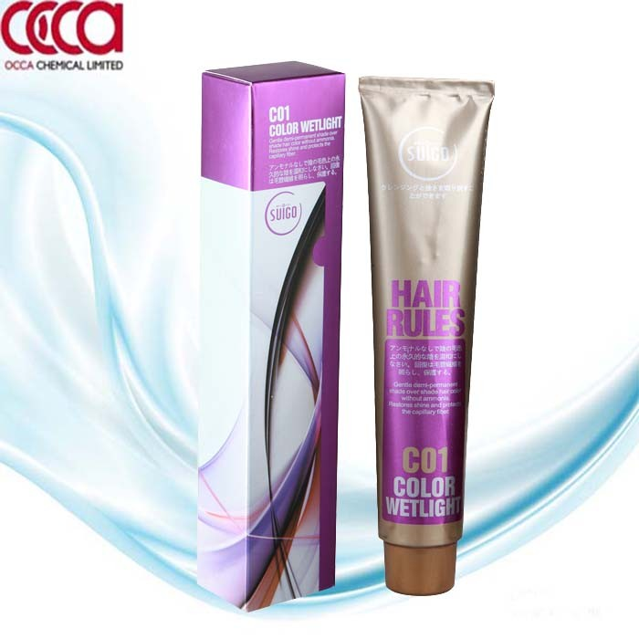 OEM professional hair color from GMPC factory with low ammonia