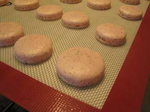 Silicone macaron pad