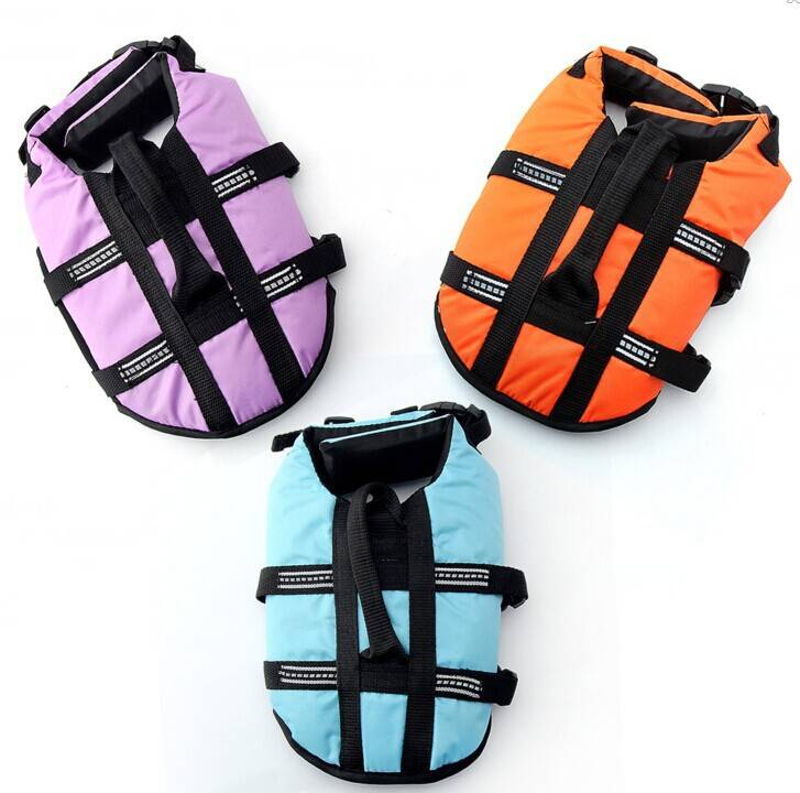 Waterproof life vest jacket for pets