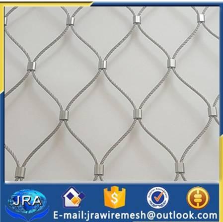 Inox wire rope netting