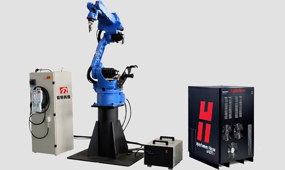 plasma and flame cutting robot arm