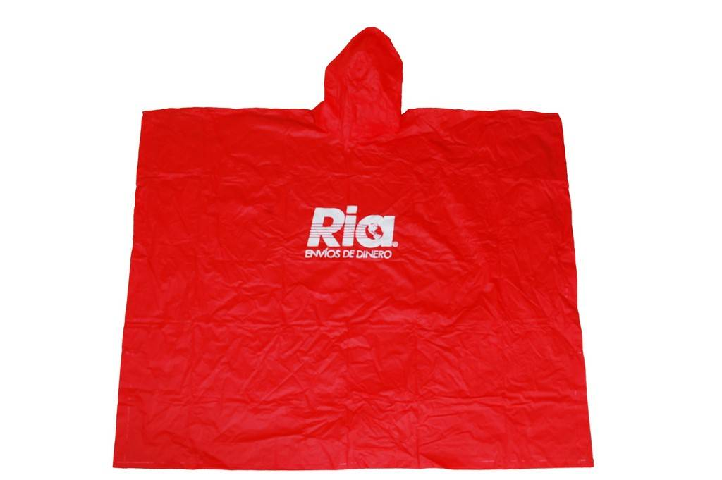 R-1020A RED PVC VINYL RAINCOATS FOR MEN