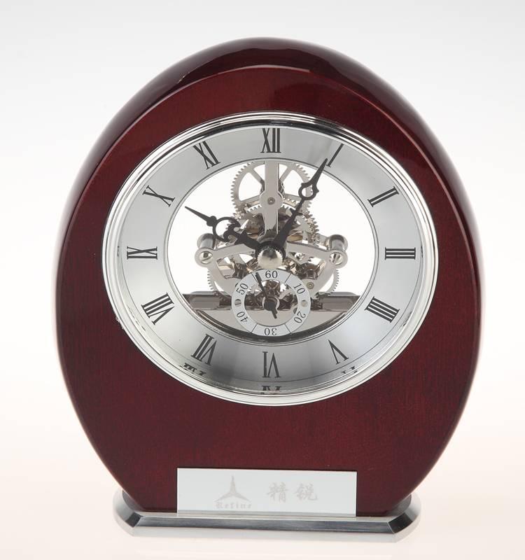 Conda Quartz wooden desk clock K8009A