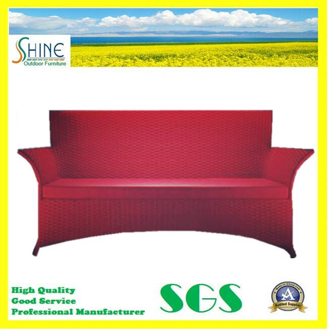 Hand Woven Outdoor Rattan Sofa with Two Seater SFM3-20150522-04