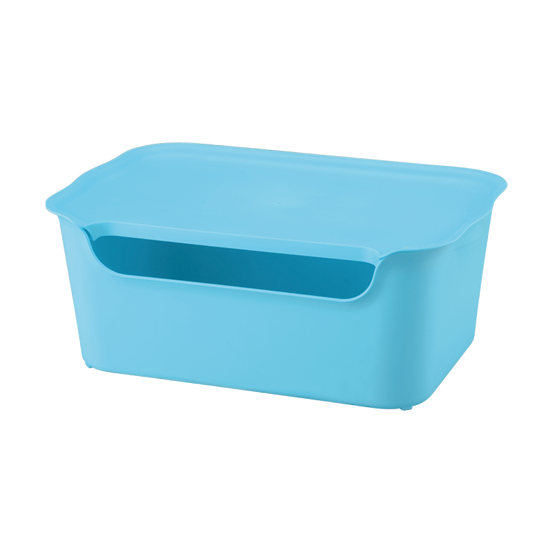6005 colorful visual Non-toxic environmental protection household plastic storage box