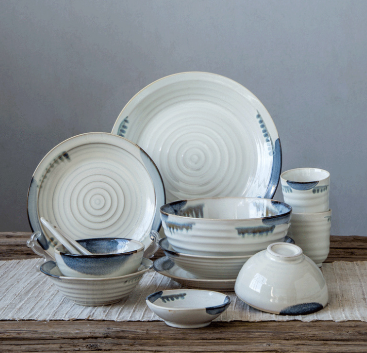 Wholesale Customized Home Tableware Dishes $ Plates Set
