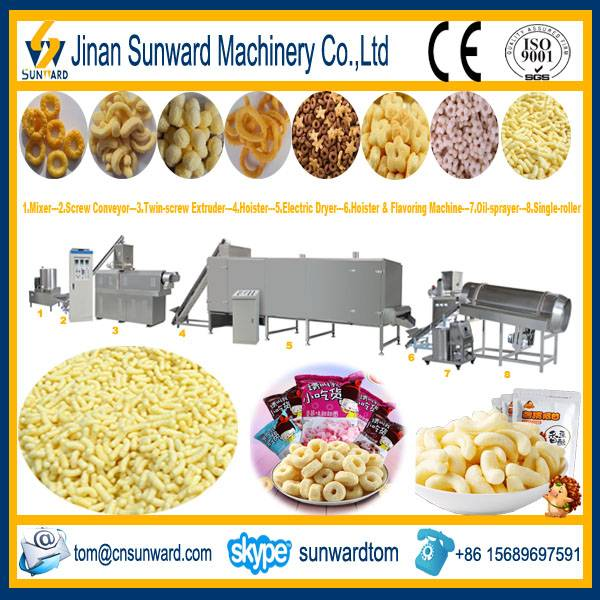 Factory Price Cheese Ball Snack Extrusion Machine
