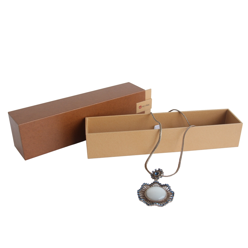 Hot sales jewelry necklace cardboard packaging paper gift box packaging