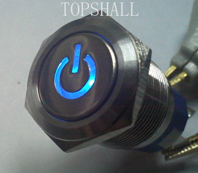 19mm maintain metal pushbutton/illuminated switch/reset switch,momentary switch,latching switch/self