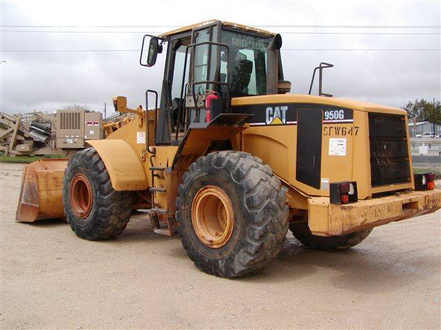Wheel Loader : Caterpillar 950G