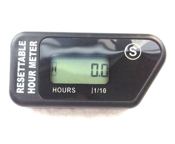 RL-HM016H Resettable LCD waterproof hour run maintenance reminder Inductive Hour Meter