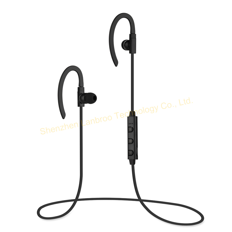 Sports Wireless Stereo Bluetooth Earphones With Mic